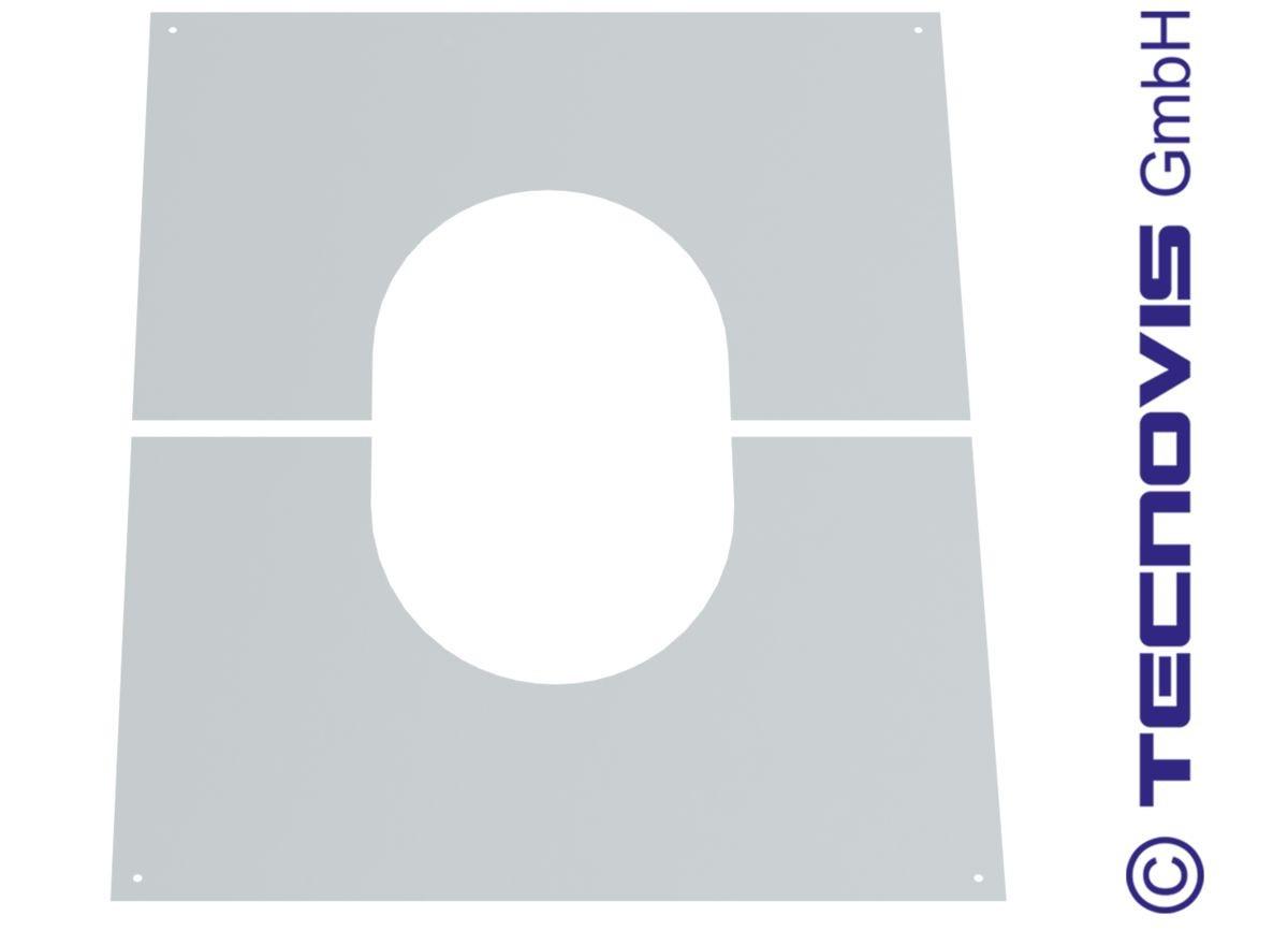 Plaque de finition 30 - 45º