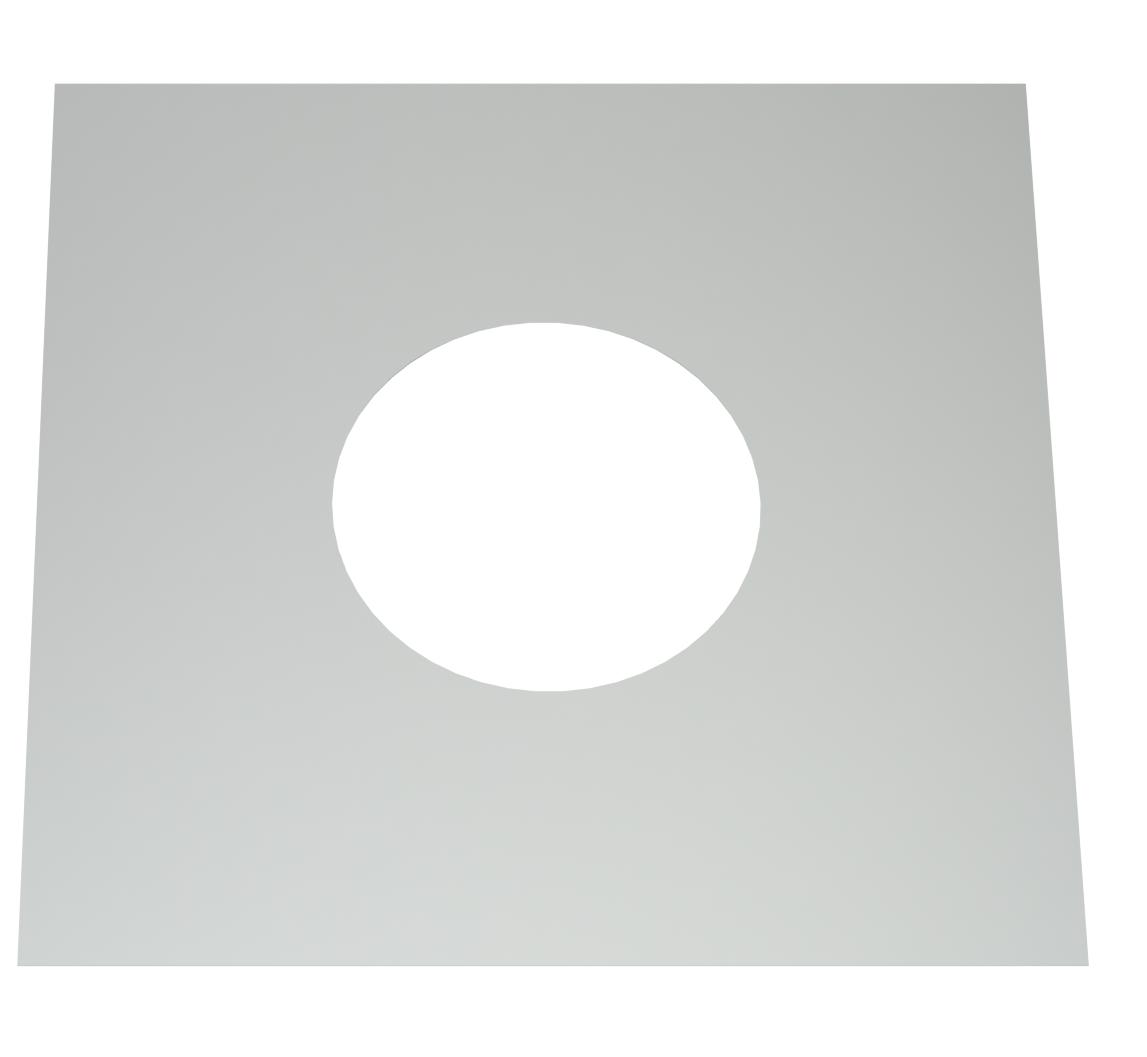 Cache Pour Conduit De Cheminée conduit de cheminee plaque coupe- feu 130 mm | conduit-de