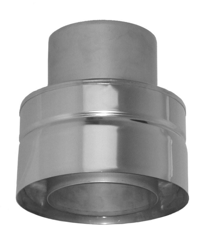 Adaptateur double - simple paroi 250 mm