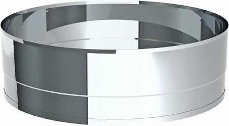 Tube éjecteur avec conclusion sertie 9,5 cm