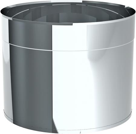 Tube éjecteur avec conclusion sertie 24 cm