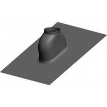 Dachdurchfürung 0-48º Schwarz