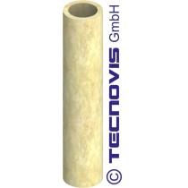 Coque isolante (20 mm laine minérale ) L = 1 mtr