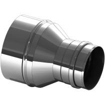 Réduction inox 180 vers 150 mm