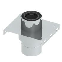 Grundplatte für Zwischenstütze mit Zuluftansaugung