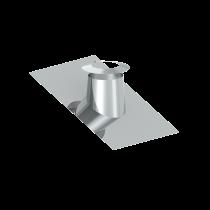 Solin en pente pour toit plat 36 - 45º - avec collerette