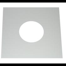 Plaque de finition et de coupe-feu
