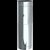 Tube d'entrée avec porte-design h = 98 cm