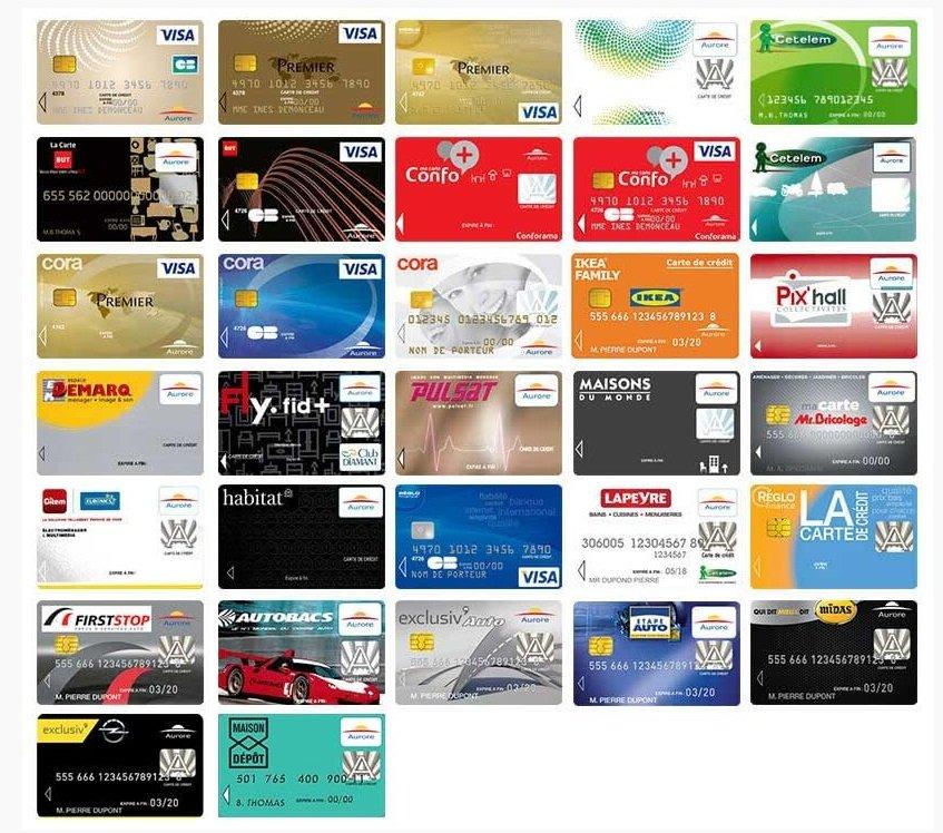 Paiement carte Aurore