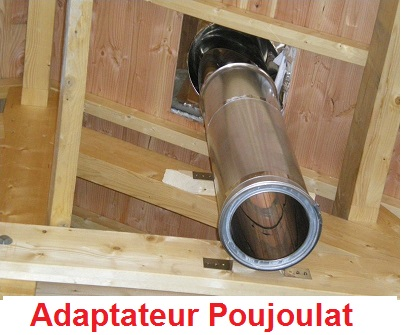 adaptateur Poujoulat